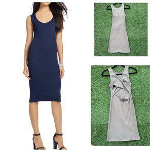 Forever 21 Sleeveless Rib Knit Bodycon Dress